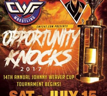CWF WORLDWIDE *SPOILERS* AND WEAVER CUP ROUND ONE RESULTS FROM OPPORTUNITY KNOCKS 2017