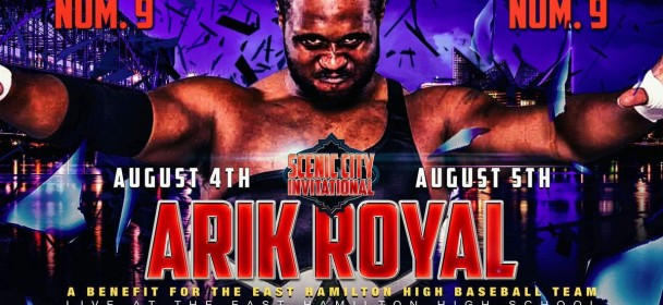 ARIK ROYAL REPRESENTS CWF IN THIS YEAR'S SCENIC CITY INVITATIONAL